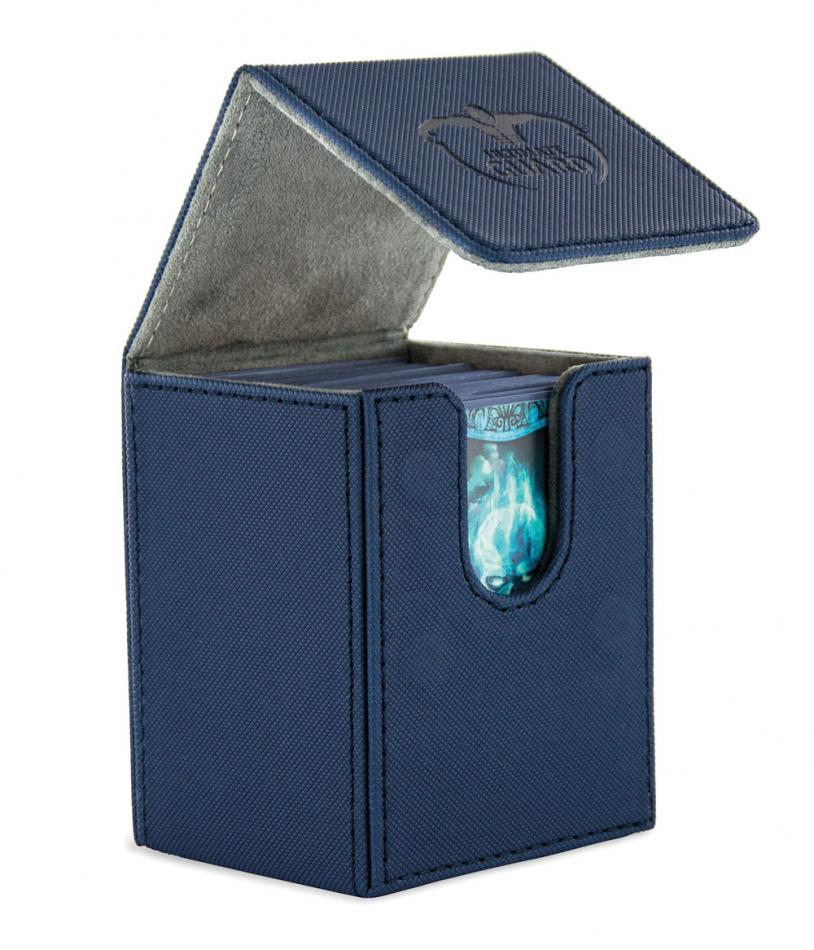 "Flip Deck Case 100+ Standard Size XenoSkinâ""¢ Blue"