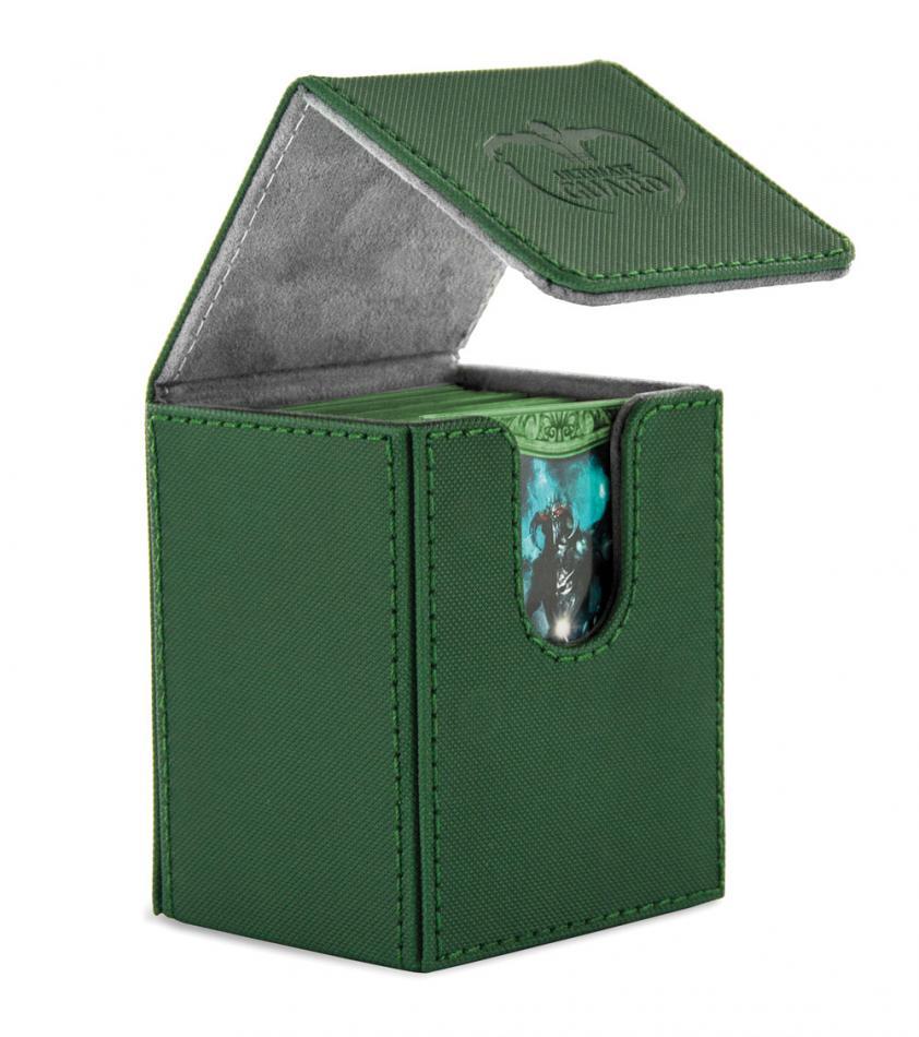 "Flip Deck Case 100+ Standard Size XenoSkinâ""¢ Green"