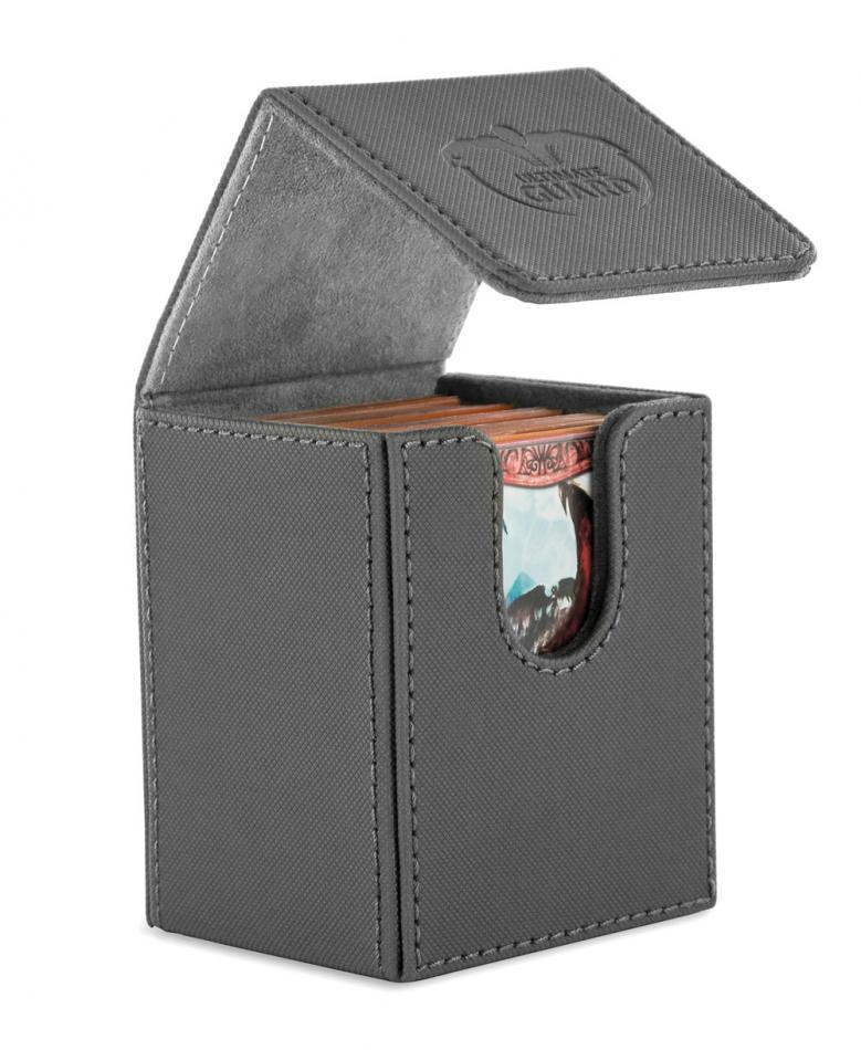 "Flip Deck Case 100+ Standard Size XenoSkinâ""¢ Grey"