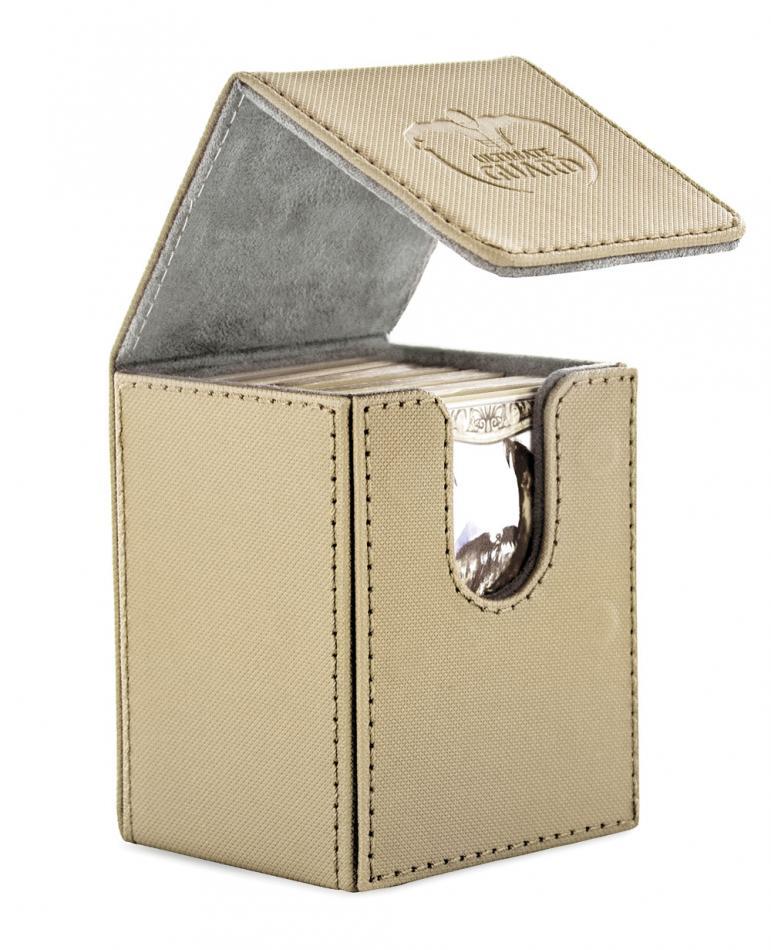 "Flip Deck Case 100+ Standard Size XenoSkinâ""¢ Sand"