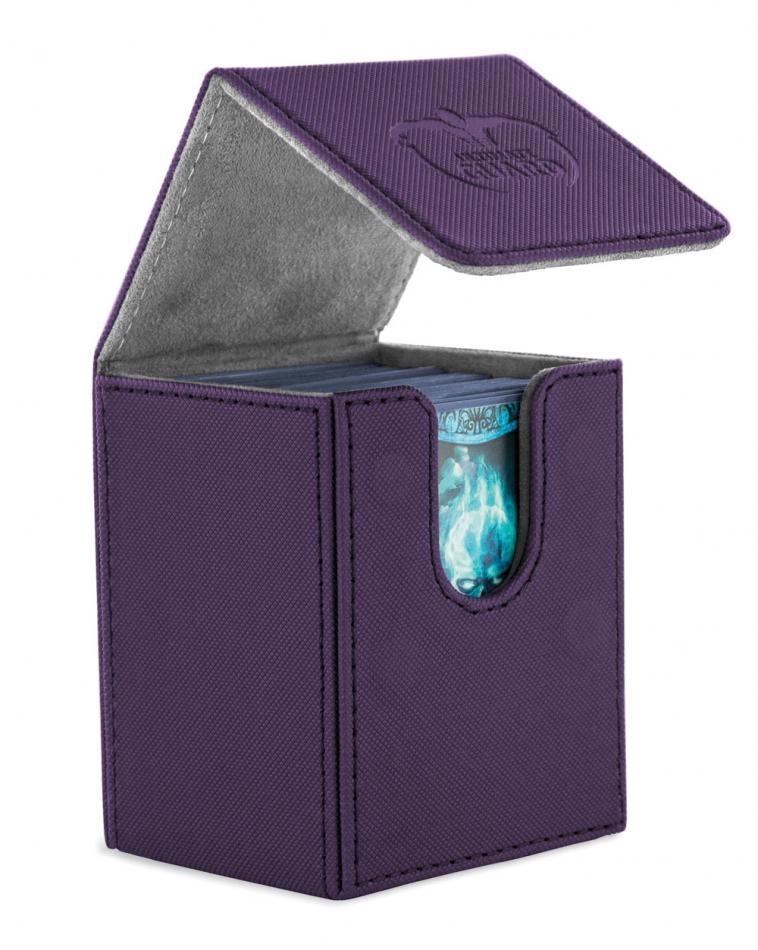 "Flip Deck Case 100+ Standard Size XenoSkinâ""¢ Purple"