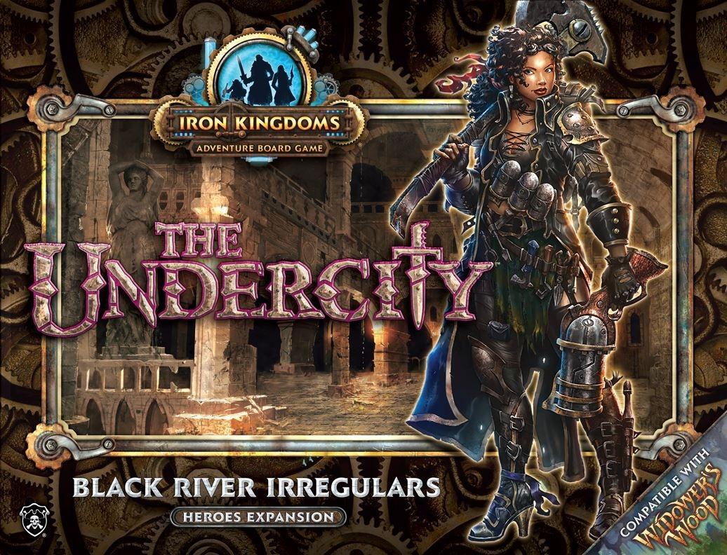 Undercity Black River Irregulars Heroes Expansion