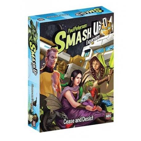 Cease and Desist: Smash Up expansion
