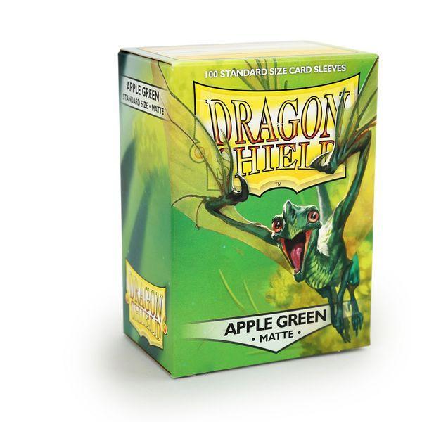Dragon Shield Sleeves Matte Apple Green (100)