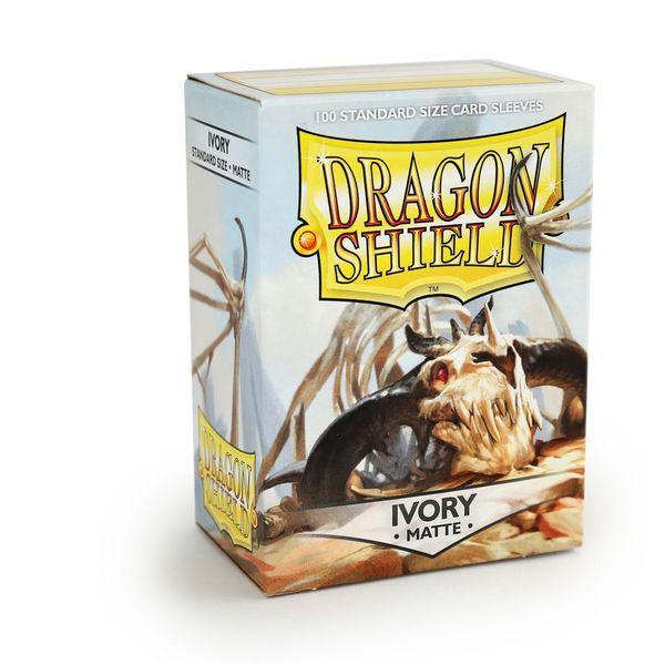 Dragon Shield Sleeves Matte Ivory (100)
