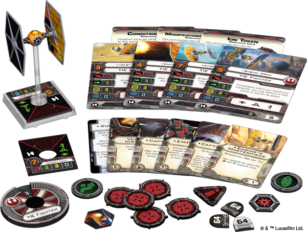 Star Wars X-Wing: Sabine's TIE Fighter Expansion pack