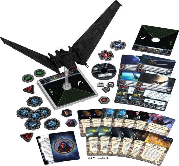 Star Wars X-Wing: Upsilon-Class Shuttle Expansion Pack