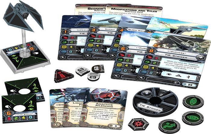 Star Wars X-Wing: TIE Striker Expansion Pack