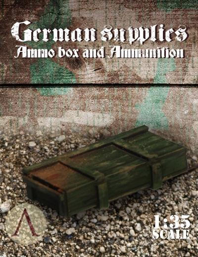 German Supplies - Ammo Box and Ammunition