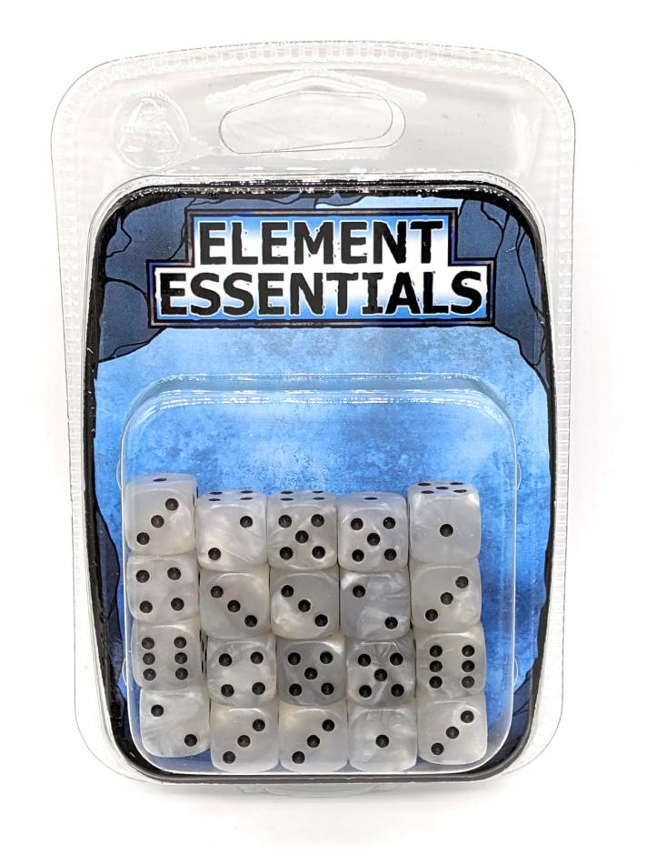 Element Games 12mm Pearl White Dice