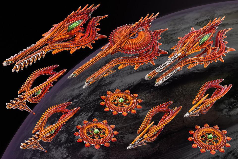 Shaltari Starter Fleet
