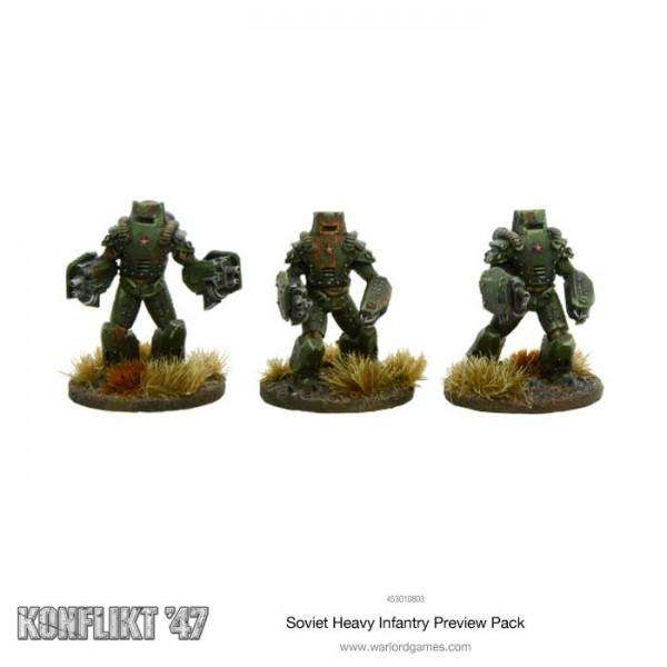 Soviet Heavy Infantry Preview Pack