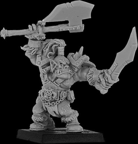 Brazhag, Orc Warlord with Two Weapons