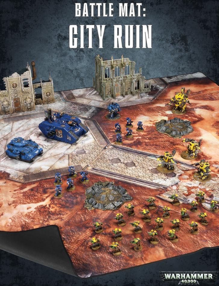 Warhammer 40,000 Battle Mat: City Ruins