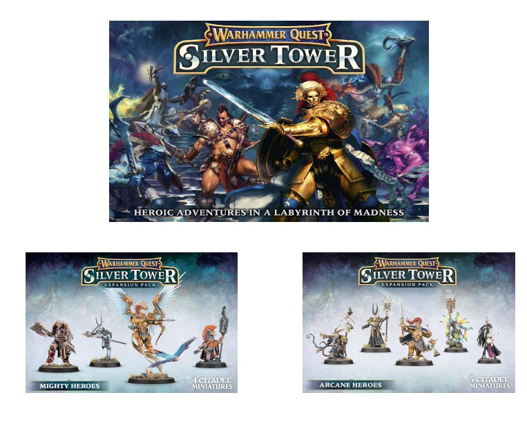 EG Silver Tower Bundle