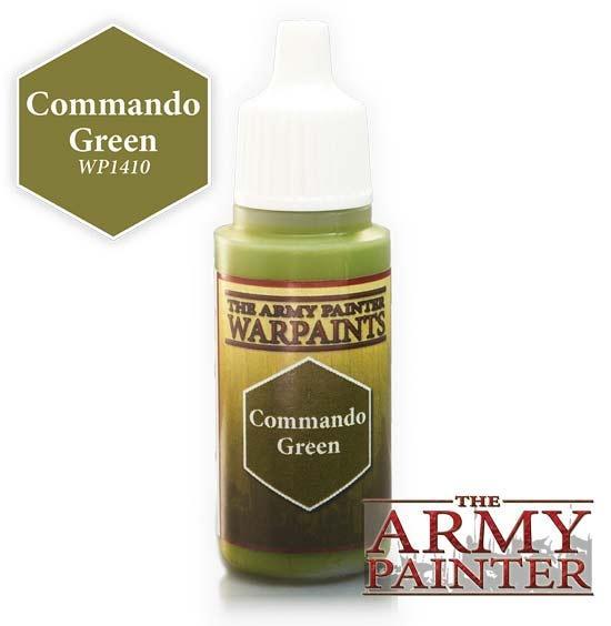 Warpaint - Commando Green