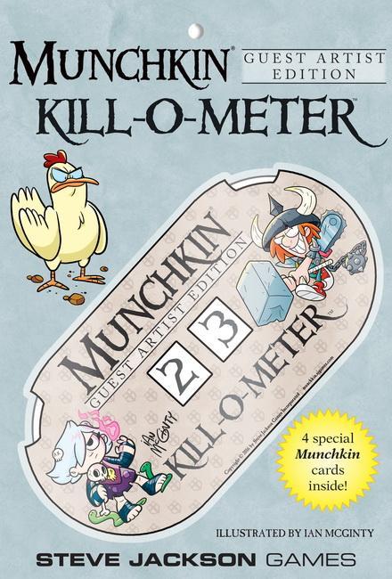 Munchkin Kill O Meter Guest Artist Edit