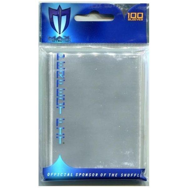 Max Protection Precise-Fit Sleeves Standard Size Transparent