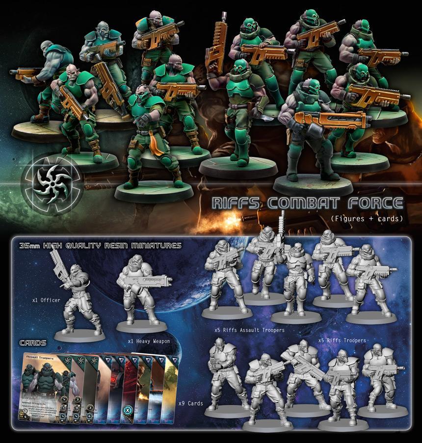 Combat Forces Riff