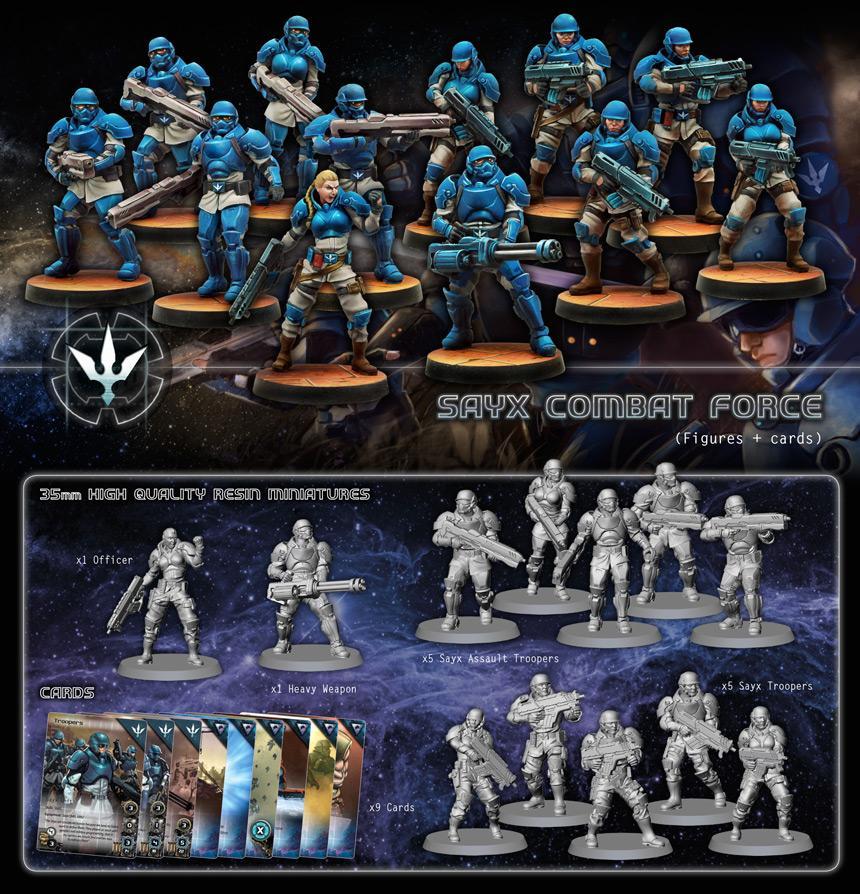Combat Forces Sayx