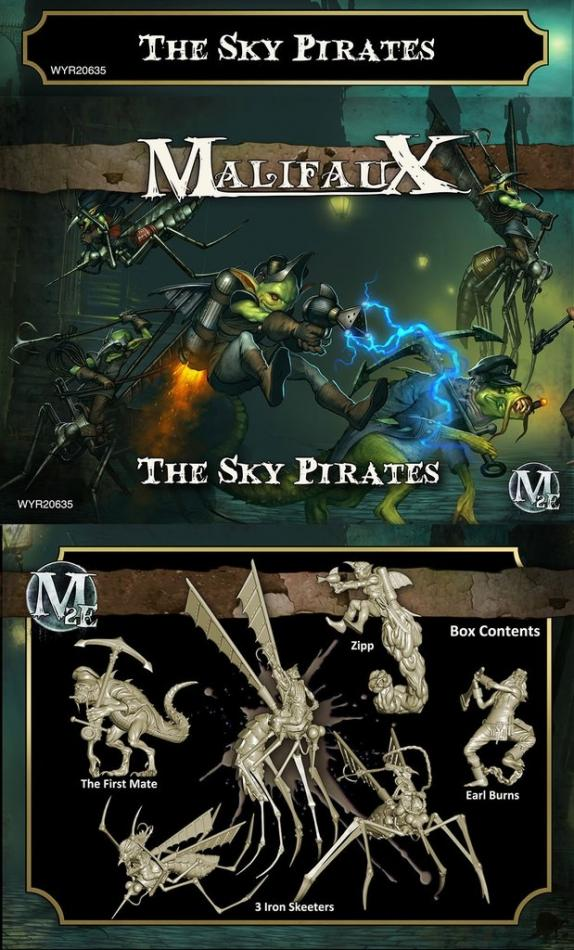 Sky Pirates Gremlin crew Set