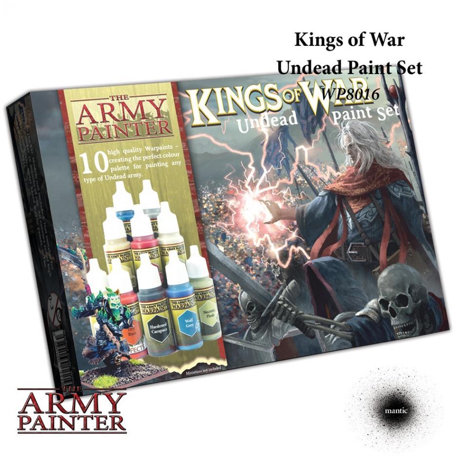 Warpaints Kings of War Undead paint set