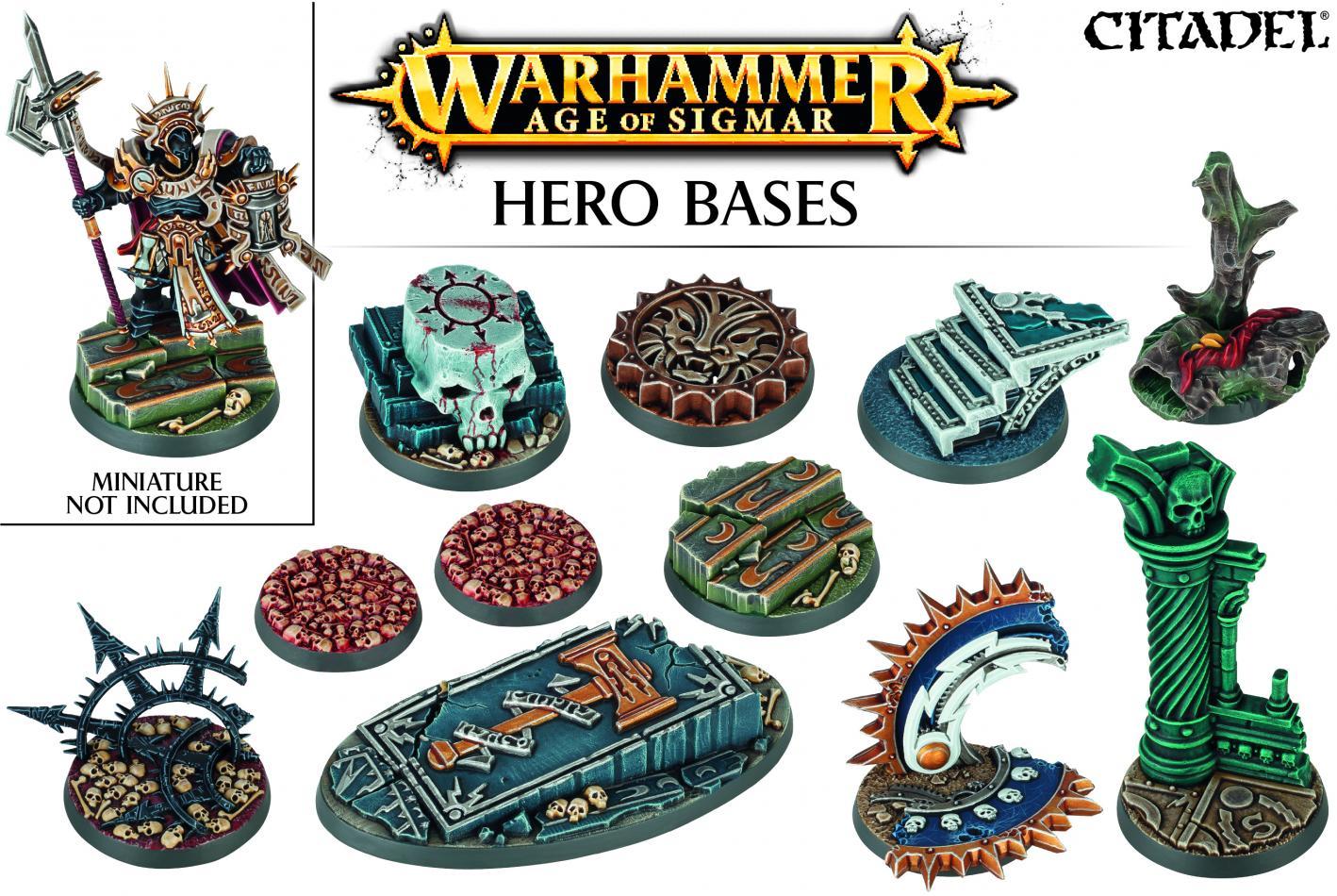 Age of Sigmar: Hero Bases