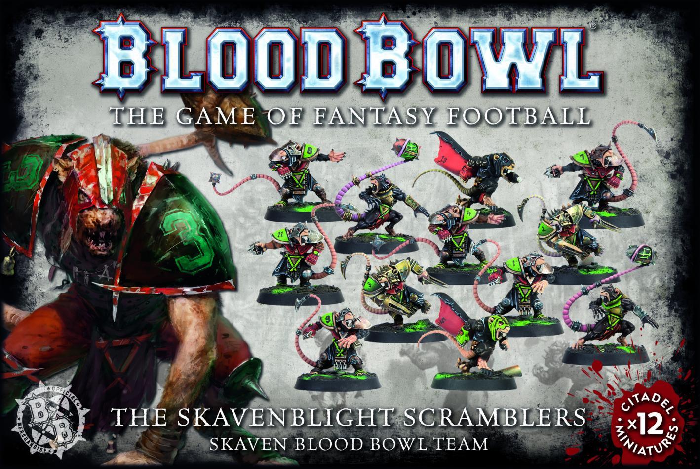 Blood Bowl Skavenblight Scramblers