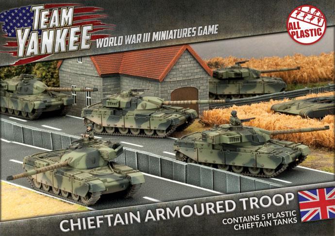 Cheiftain Armoured Troop (x5 Plastic)