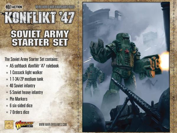 Soviet Konflikt 47 Starter Set