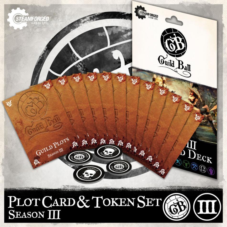 Season 3 Plot Card & Token Set