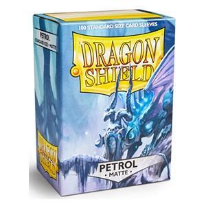 Dragon Shield Sleeves Matte Petrol (100)