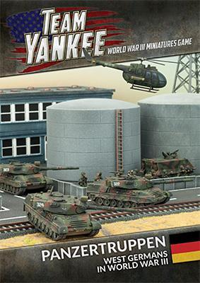 Panzertruppen West German Brief (12p + 10 cards)