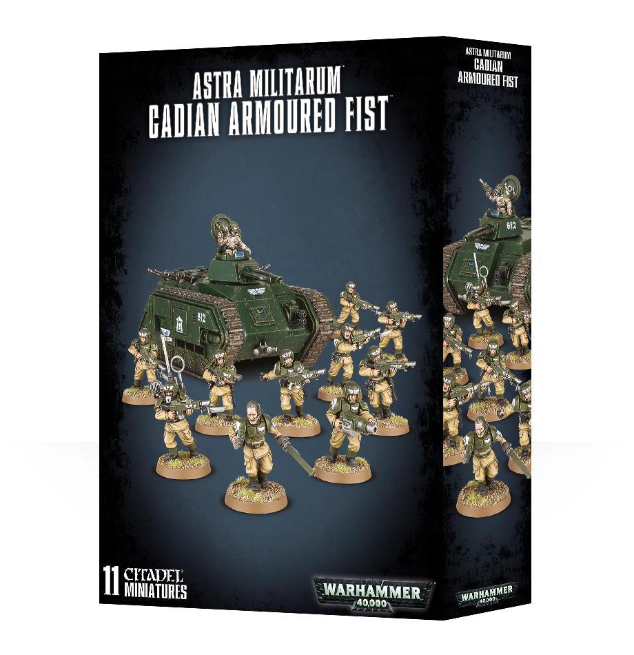 Astra Militarum Cadian Armoured Fist