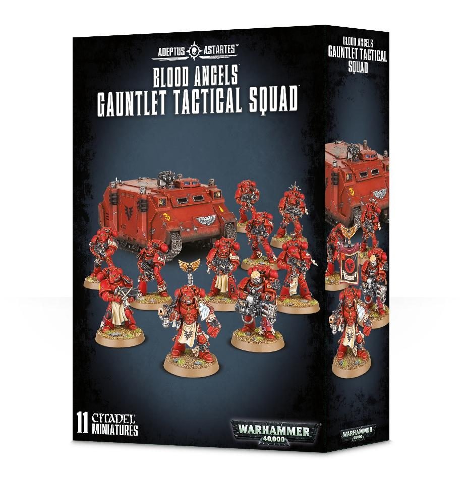 Blood Angels Gauntlet Tactical Squad