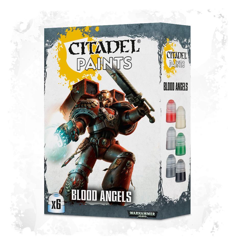 Blood Angels Paint Set