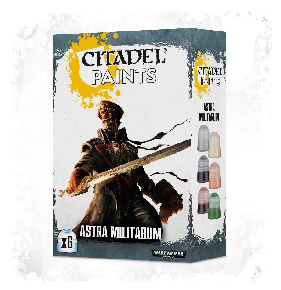 Astra Militarum Paint Set