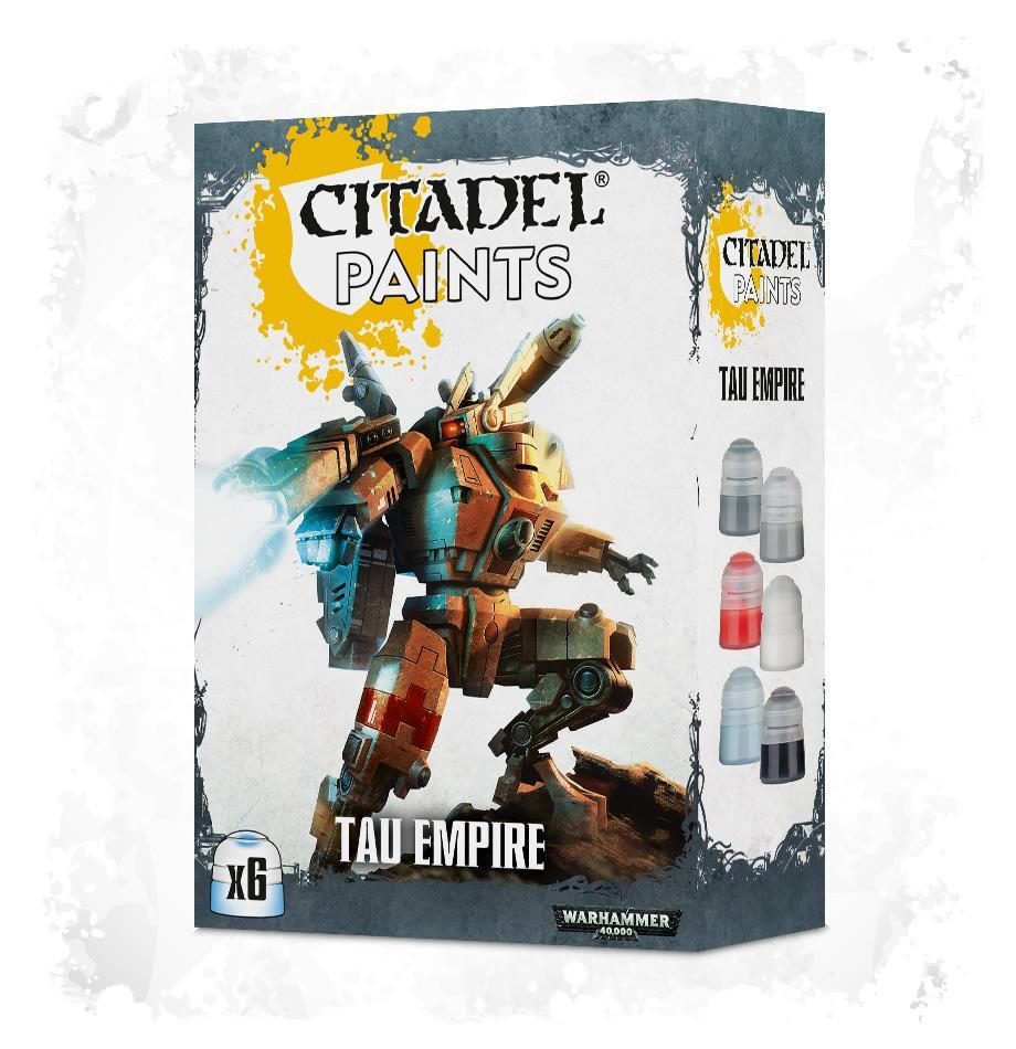 Tau Empire Paint Set