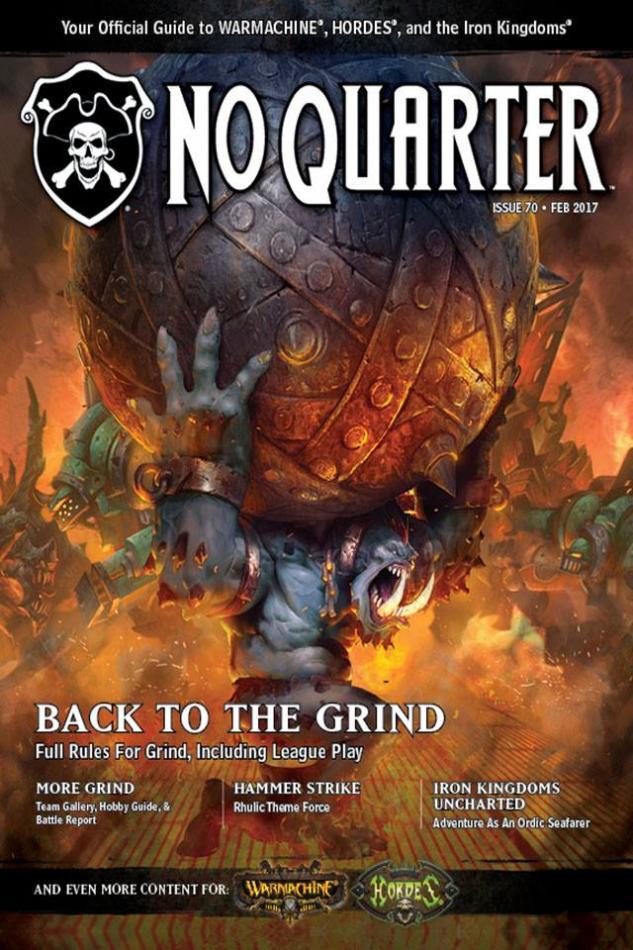 No Quarter Magazine, Issue #70