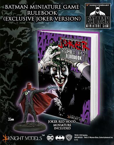 BMG RULEBOOK Joker Cover + Red Hood