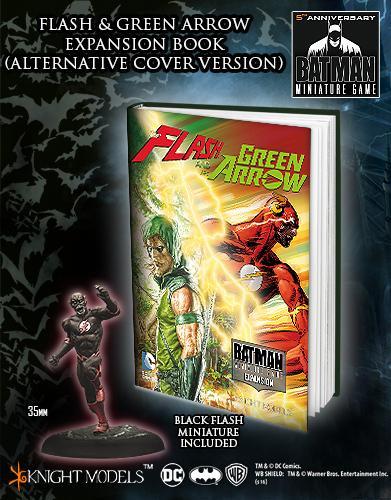 FLASH AND THE ARROW Alternative Cover + Black Flash