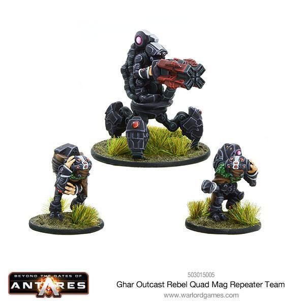 Ghar Outcasts Rebel Quad mag Repeater teams