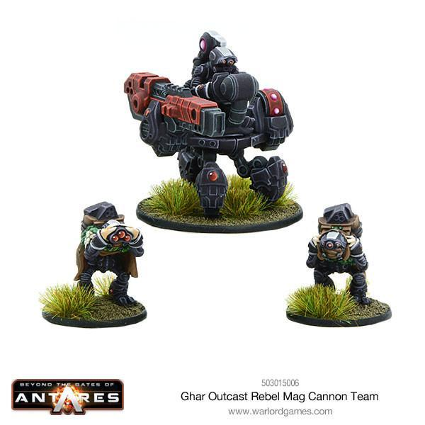Ghar Outcasts Rebel Mag cannon team