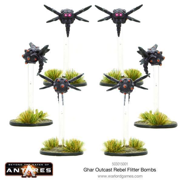 Ghar Outcast Rebel Flitter Bombs