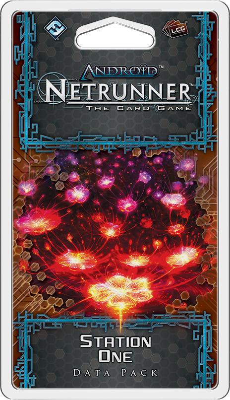 Station One Data Pack: Netrunner LCG Exp.