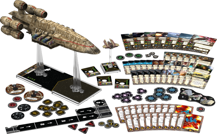 C-ROC Cruiser Expansion Pack: X-Wing Mini Game