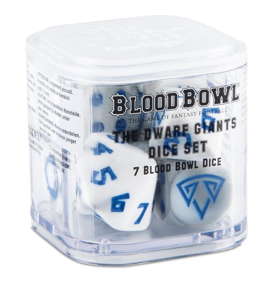 Dwarf Giants Blood Bowl Dice