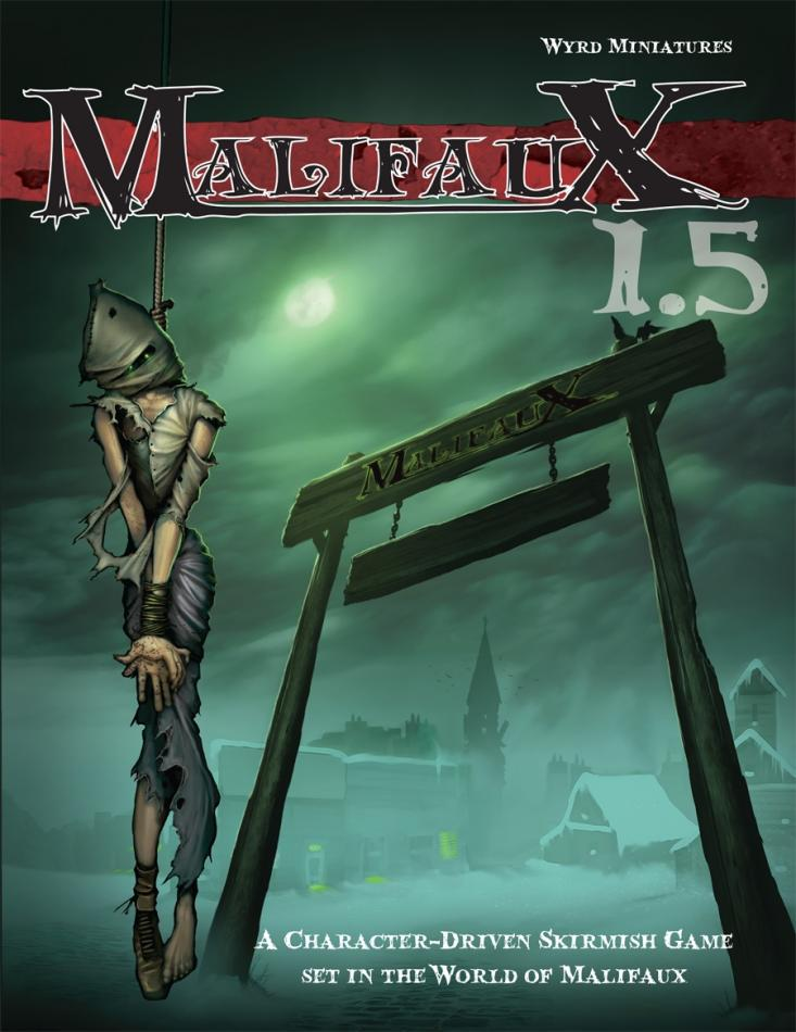 Malifaux 1.5 Main Full Size Rulebook