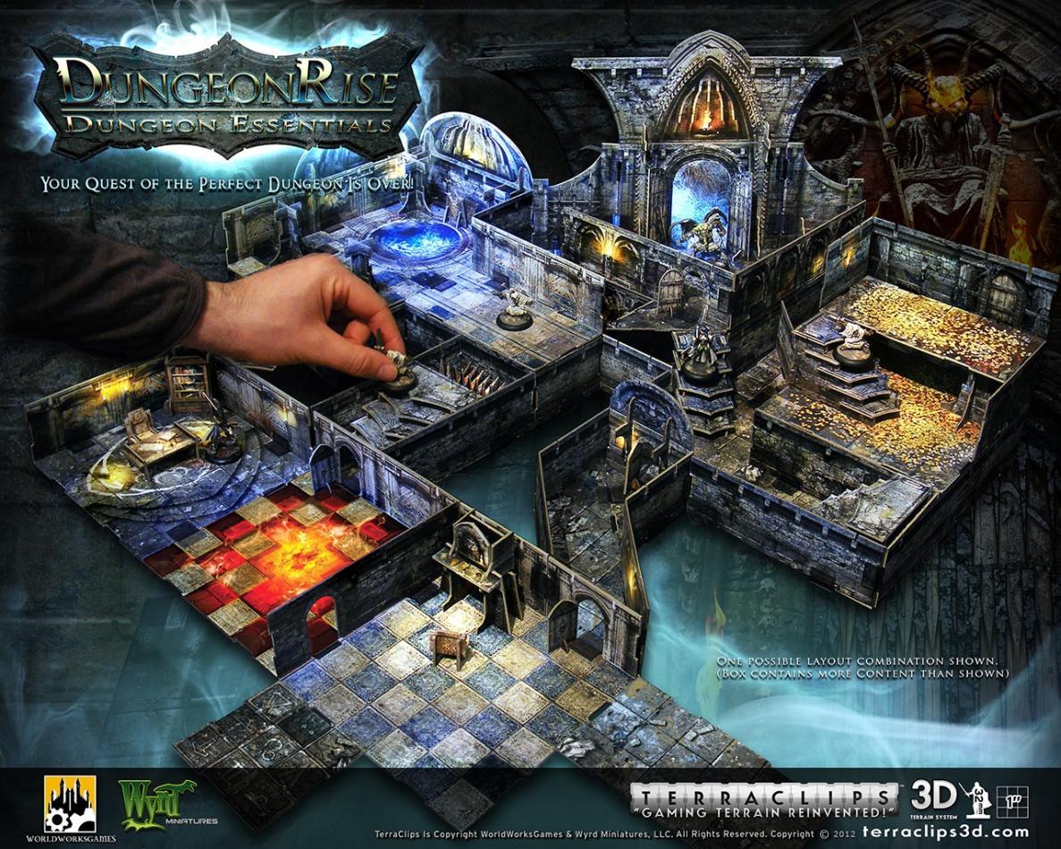 Terra Clips Dungeon Rise Dungeon Essentials