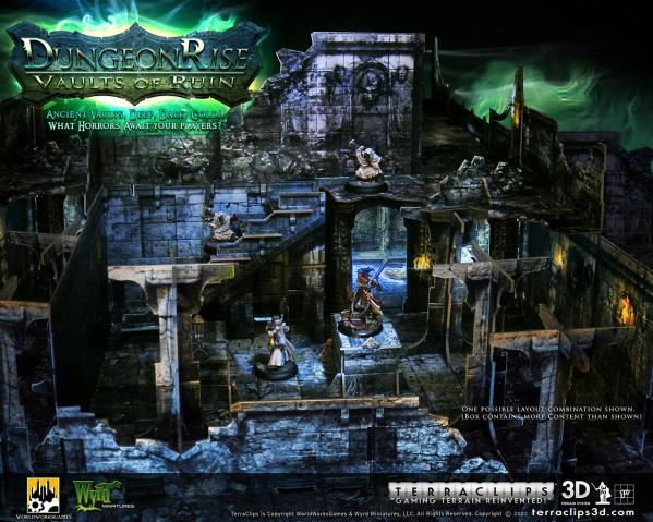 Terra Clips Dungeon Rise Vaults of Ruin